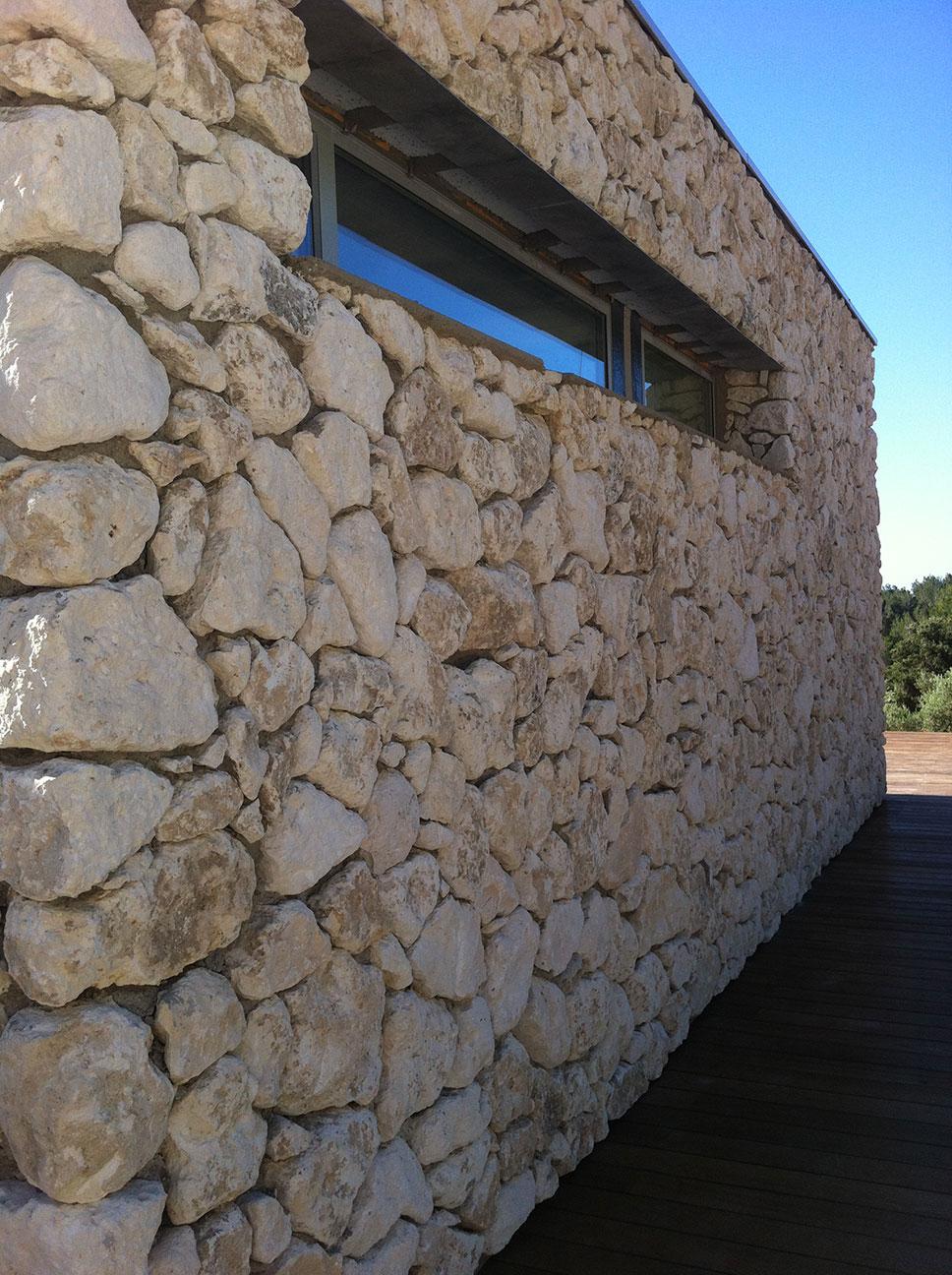 Doublage pierres