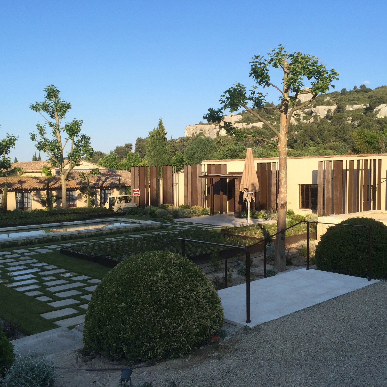 Rénovation style provençal de domaine viticole / Hôtel / ancien batiment