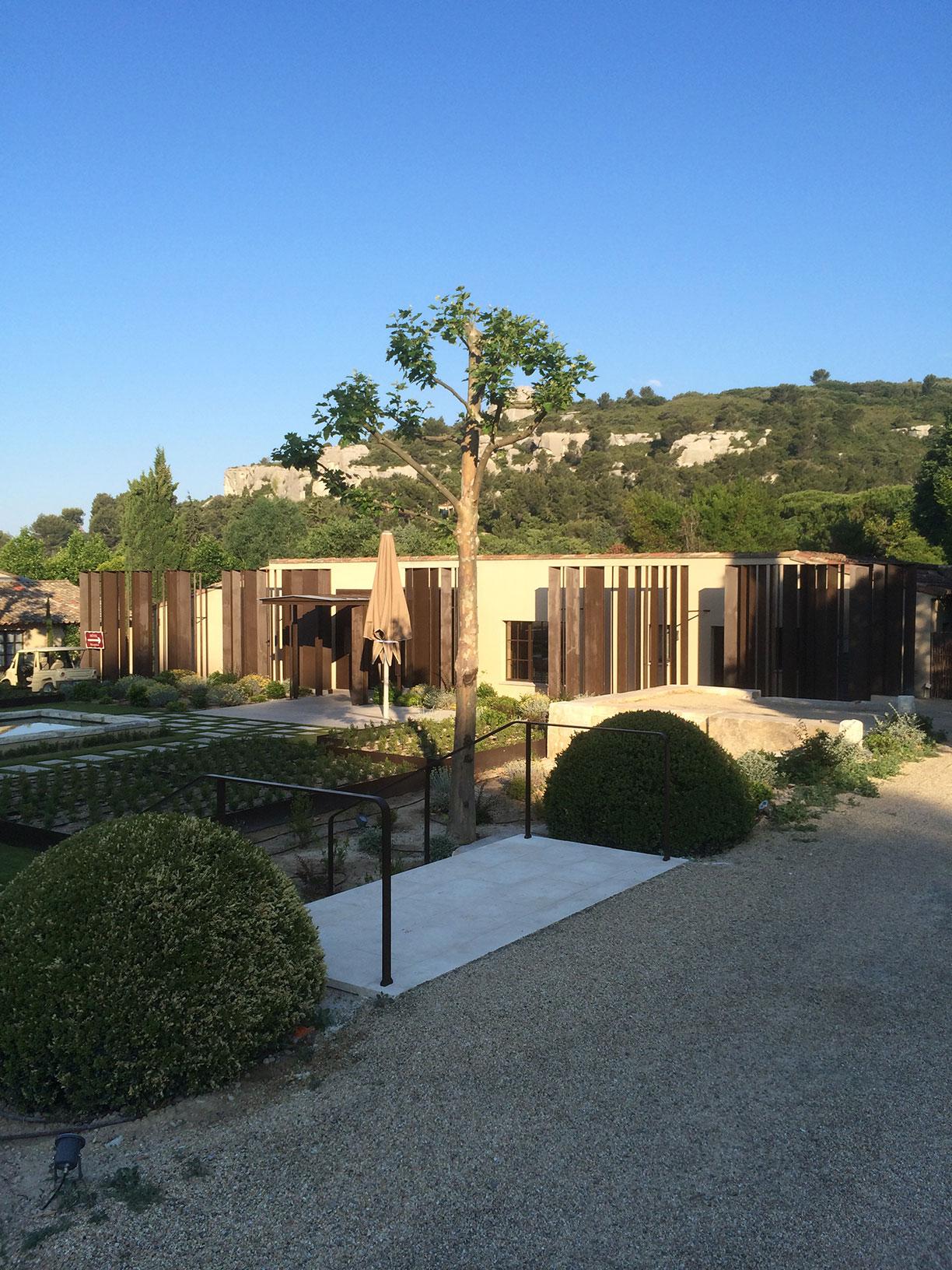 Rénovation d'un domaine hôtelier