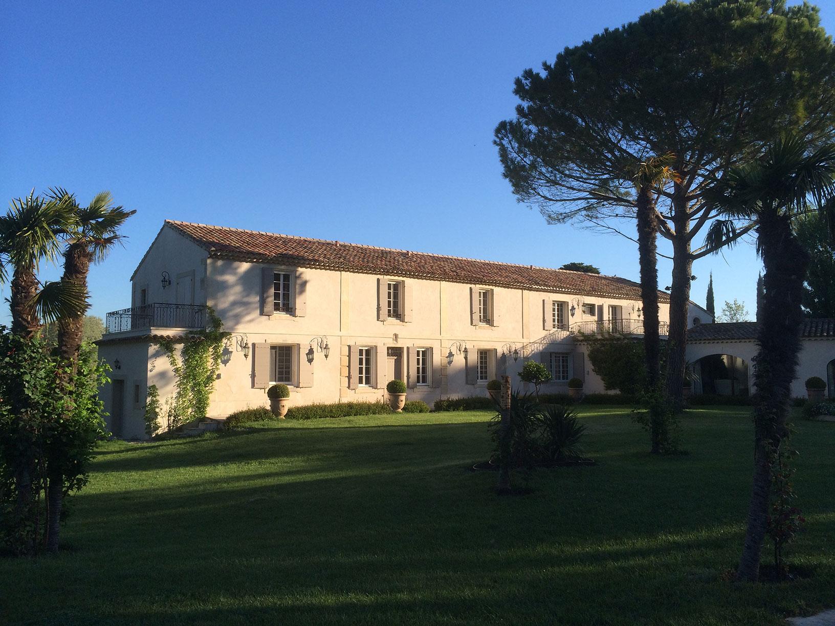 Rénovation d'un mas Provençal
